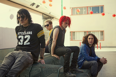 16 My Chemical Romance