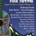 Pagosa hosts 17th Four Corners Folk Fest BY Brian Turk &nbsp; www.folkwest.com August 31 &#8211; Sept. 2 Reservoir Hill Park...