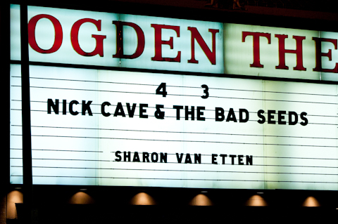 Nick Cave & The Bad Seeds - Ogden 4-3-13-1