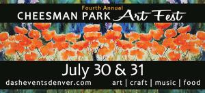 Cheesman Park Art Fest