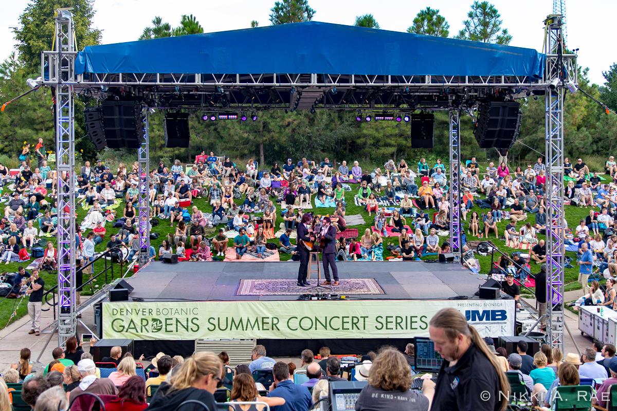 Denver botanic gardens concert garden ftempo Denver botanic gardens concert