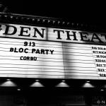 1-Bloc Party Ogden Theatre 09.13.2016