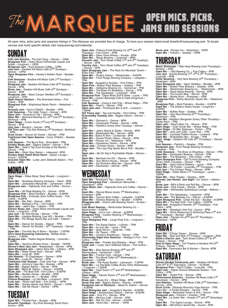 Open-mics-picks-jams-Marquee-May-2017