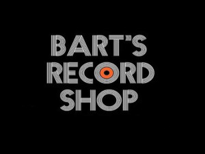 bart's record shop record store day marquee magazine