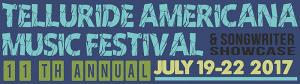 Telluride Americana Music Festival marquee magazine