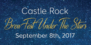Castle Rock Brewfest Under The Stars festival marquee magazine