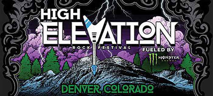 High Elevation Rock Festival marquee magazine