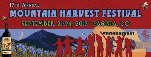 Mountain Harvest Festival marquee magazine