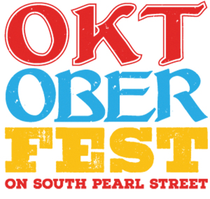 Oktoberfest on South Pearl festival marquee magazine