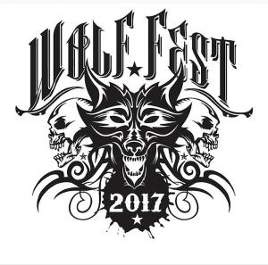 Wolf Fest marquee magazine