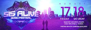515 Alive Music Festival marquee magazine