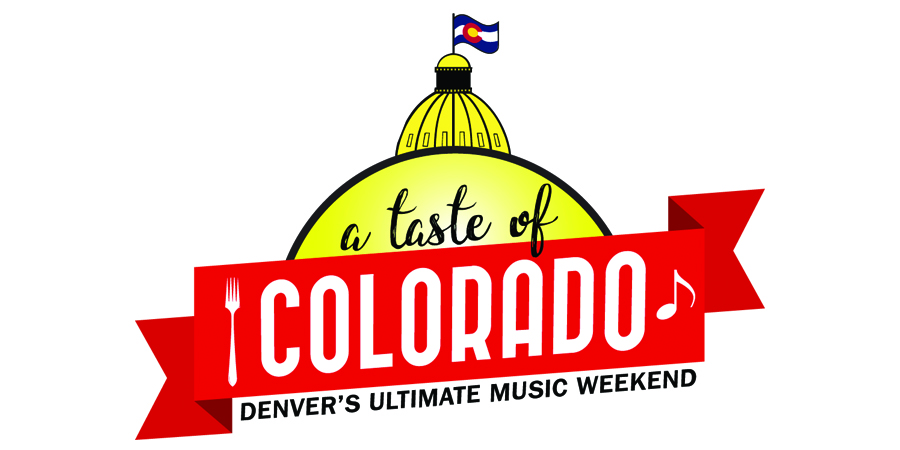 A Taste Of Colorado festival marquee magazine
