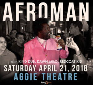 afroman aggie theater marquee magazine