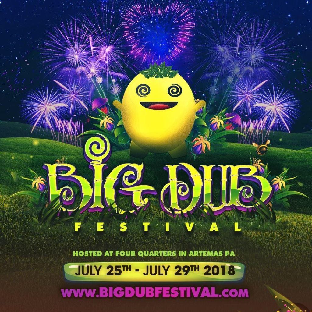 Big Dub Festival marquee magazine