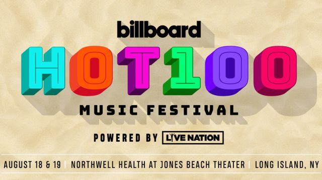 Billboard Hot 100 Festival marquee magazine