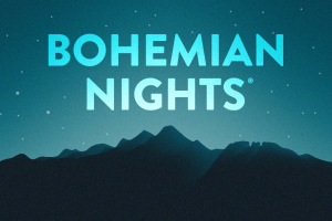 Bohemian Nights at New West Fest marquee magazine