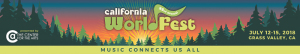 California Worldfest marquee magazine