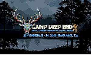 Camp Deep End festival marquee magazine