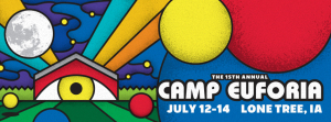 Camp Euforia festival marquee magazine