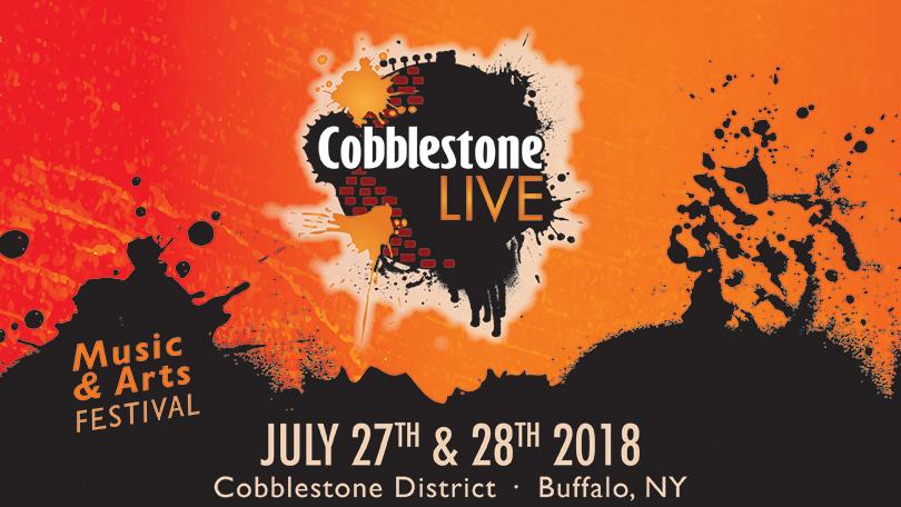 Cobblestone Live festival marquee magazine