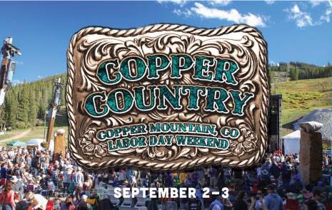 Copper Country Music Festival marquee magazine