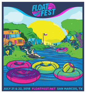 Float Fest marquee magazine