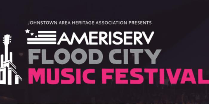 Flood City Music Festival marquee magazine