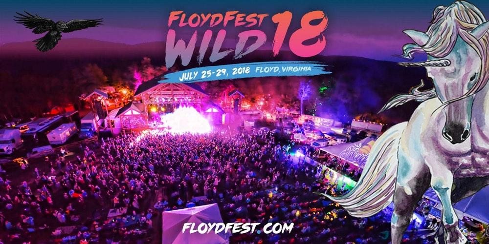 FloydFest 18 Wild festival marquee magazine