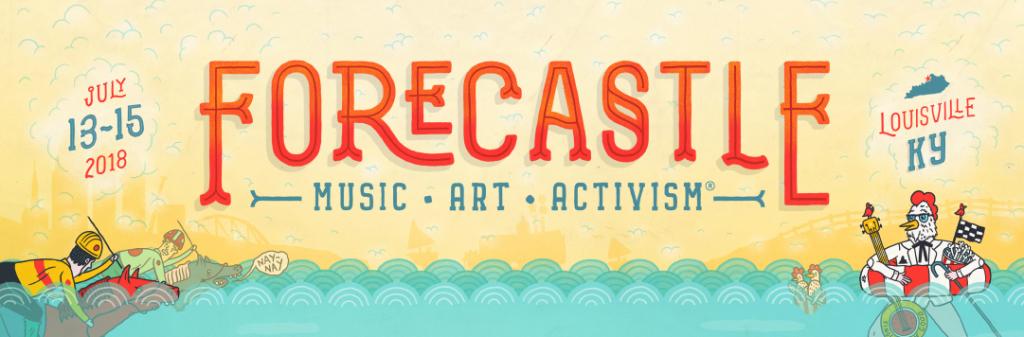 Forecastle Festival marquee magazine