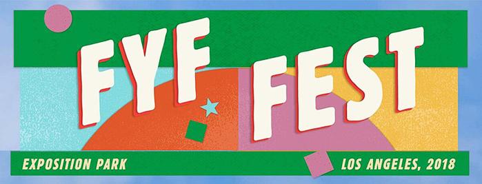 FYF Fest marquee magazine
