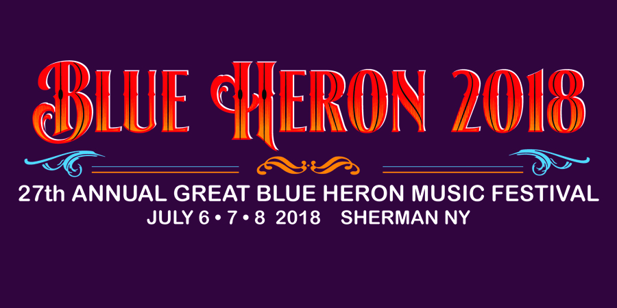 Great Blue Heron Festival marquee magazine