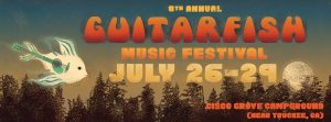 Guitarfish Music Festival marquee magazine