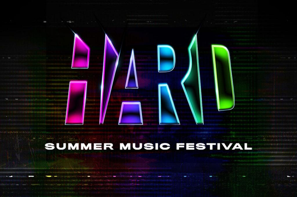 HARD Summer Music Festival marquee magazine