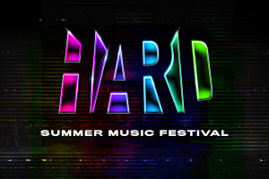 HARD Summer Music Festival marquee magazine
