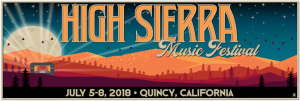 High Sierra Music Festival marquee magazine
