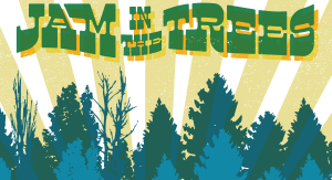 Jam in the Trees festival marquee magazine