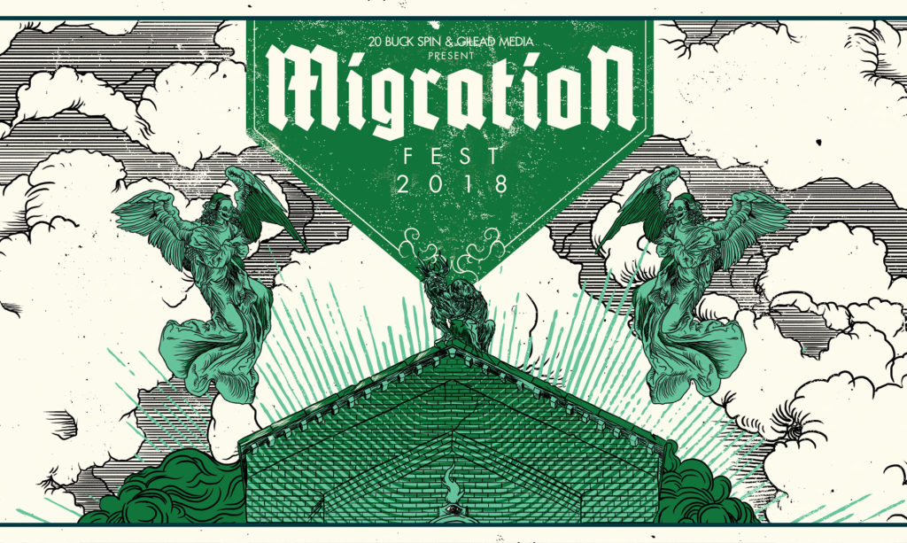 Migration Fest marquee magazine