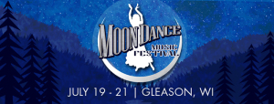 Moon Dance Music Festival marquee magazine