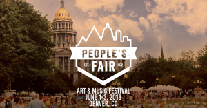 People's Fair Art and Music Festival marquee magazine