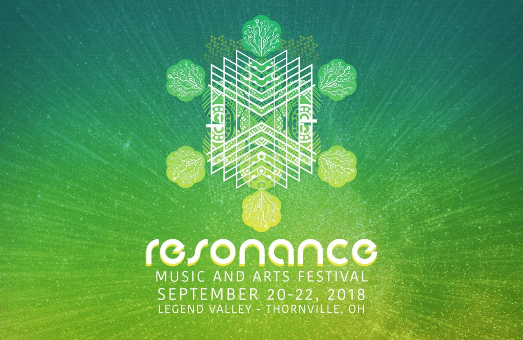 Resonance Music and Arts Festival marquee magazine