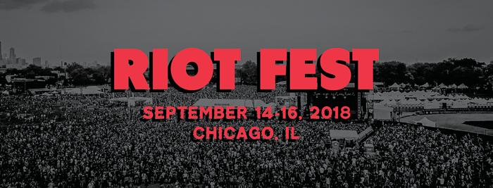 Riot Fest marquee magazine