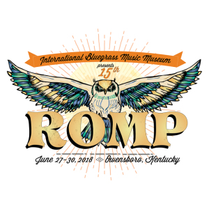 ROMP festival marquee magazine