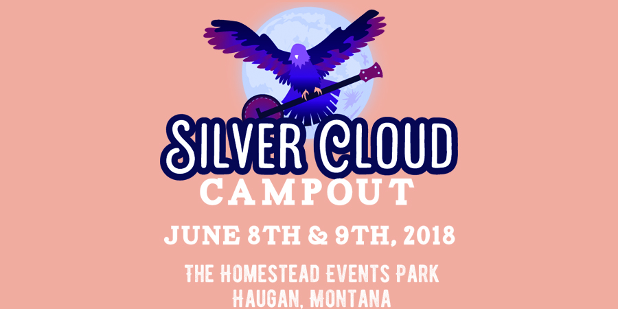 Silver Cloud Campout festival marquee magazine