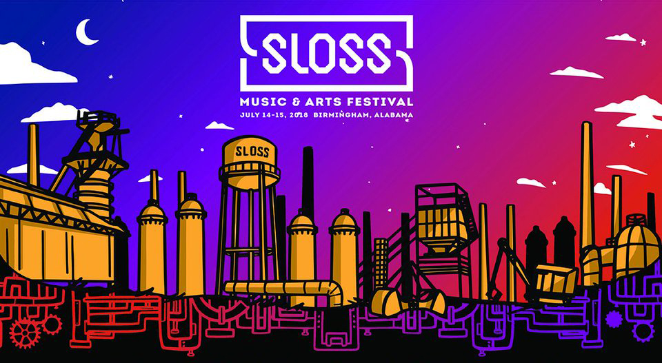 Sloss Music & Arts Festival marquee magazine