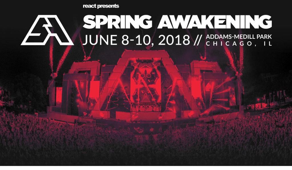 Spring Awakening festival marquee magazine