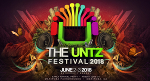 The Untz Festival marquee magazine