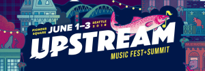 Upstream Music Festival marquee magazine