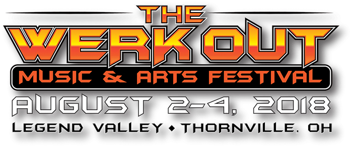 The Werk Out Music And Arts Festival marquee magazine