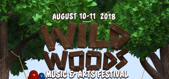 Wild Woods Music & Arts Festival marquee magazine