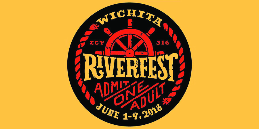 Wichita Riverfest marquee magazine